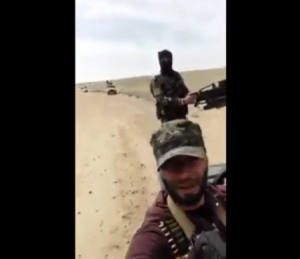 Syrian Soldier Gets Photo 'Bombed' [GRAPHIC]