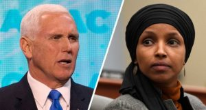 VP Pence Lays Down The Law On Congress , Calls For Ilhan Omar's Removal From Powerful Committee