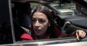 WATCH: AOC Confronted On Her Claim Migrants Drinking From Toilet