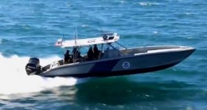 BREAKING: U.S. Border Patrol Boat Shot With Fully Automatic Guns From Mexico