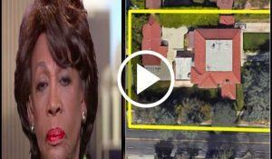 Wacko Maxine Waters Receives Brutal Karma In Front Of Her $4.5 Million Home