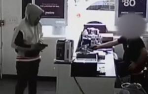 Armed Marine 'Wrong Store MOTHERF***ER' Pulls Trigger BANG BANG