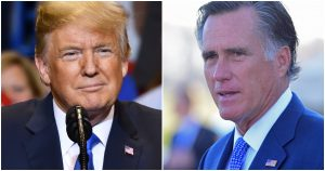 Trump Calls for the Impeachment of Republican Utah Senator Mitt Romney