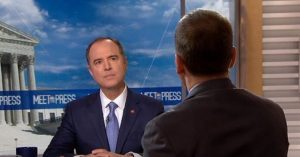 Schiff Slips on Live TV, Admits Lie