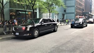 Man Was Being Beaten With A Baseball Bat… Then Donald Trump's Limo Rolled Up